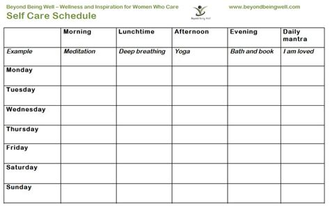 printable  care worksheets daily  care plan