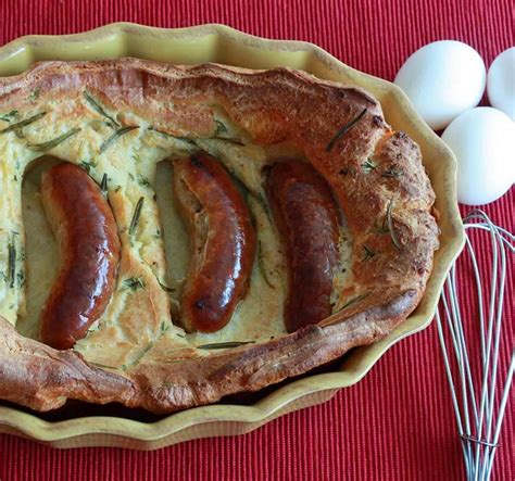 Authentic Toad in the Hole (Sausage & Yorkshire Pudding ...