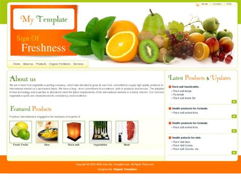 Free Web Templates Html Freshview An Exclusive Free Web Template Free