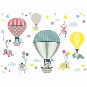 Anna Wand Lampe : anna wand wandsticker hei luftballons hot air balloons wandsticker fensterbilder ~ Markanthonyermac.com Haus und Dekorationen