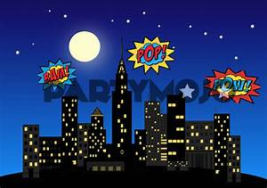 Superhero Themed Birthday Party Package (Kids)