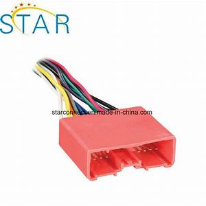 China Mazda 24 Pin Auto Cable Iso Car Wiring Harness With