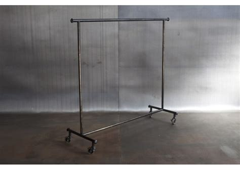 metal clothing racks jason wein reclaimed steel rolling clothing rack