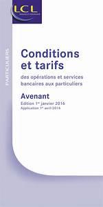 Www Particuliers : lcl tarifs particuliers ~ Gottalentnigeria.com Avis de Voitures