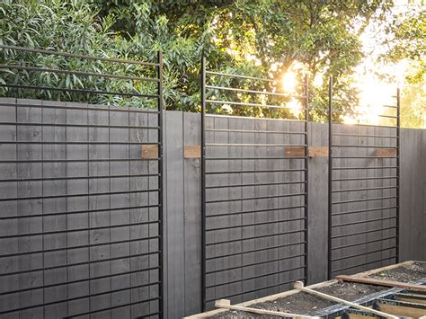 Outdoor Trellis Panels by Using Metal Fence Panels As Trellises For The Vertical