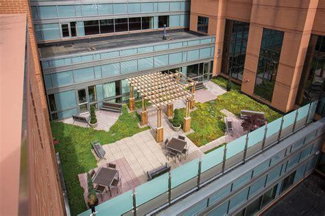 iu health north hospital roof garden msktd
