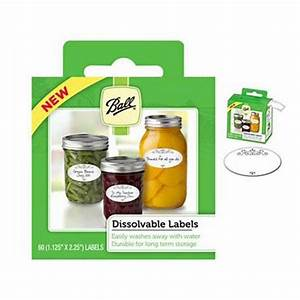 ball dissovable canning jar labels canning supplies With canning supplies labels