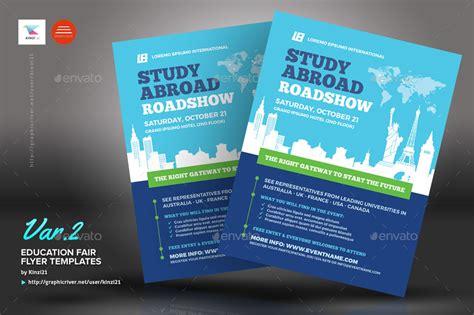 education fair flyer templates  kinzi graphicriver