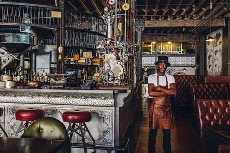 Wired coffee bar provides the highest quality espresso based drinks, natural fruit smoothies, frozen cremes, hot chocolate, and a variety of teas. Step Inside 'Truth,' a Steampunk Coffee Shop in Cape Town, South Africa | Colossal