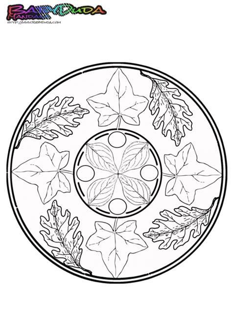 herbst mandala ausmalbilder und malvorlagen malbuch