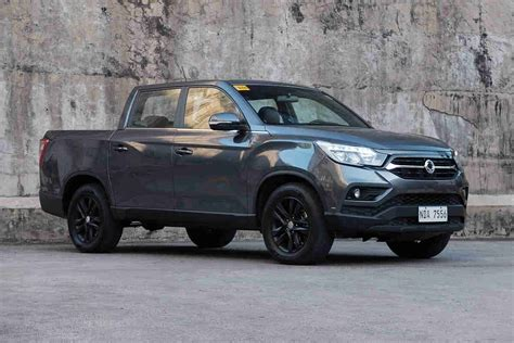 SsangYong Musso | CarGuide.PH | Philippine Car News, Car ...