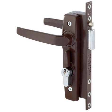 door security locks gainsborough brown hinged security door deadlock