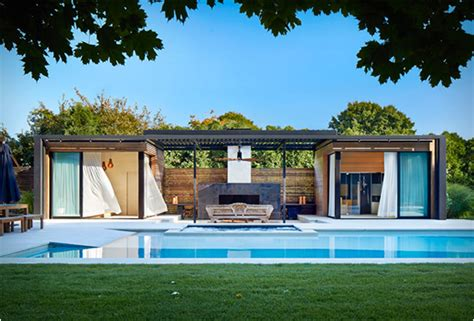 mid century rocking pool house by icrave