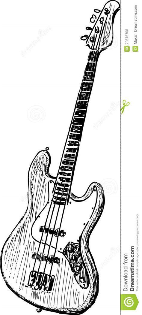 gitarre vektor abbildung illustration von modern musik