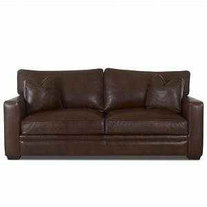 klaussner homestead ld61500lp s leather sofa dunk With klaussner leather sectional sofa