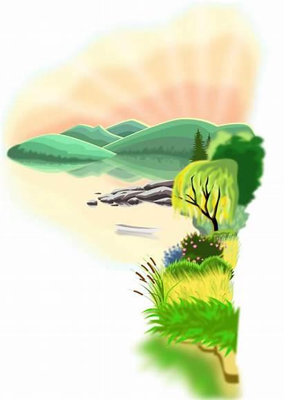 Lake Vector 4vector Illustration Svg Clipart Clip