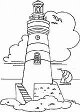 Lighthouse Coloring Pages Boat Coast Printable Sailing Guard Getdrawings Ships Print Ferry Realistic Adult Boats Adults Colornimbus Theme Transportation Stitch sketch template