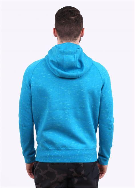 light blue hoodie nike tech fleece aw77 hoodie light blue
