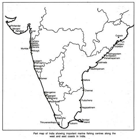 major fish production centers  india