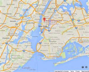Washington Square Park New York Map