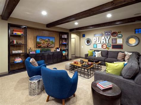 basement ideas for teenagers toll brothers luxury homes and spaces on Basement Ideas For Teenagers