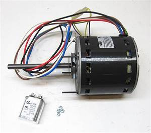 Furnace Air Handler Blower Motor 3  4 Hp 1075 Rpm 230 Volt 3 Speed For Fasco D729