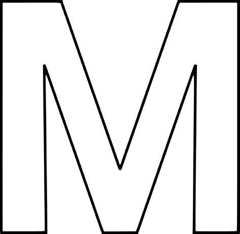 Coloriage Lettre M à Imprimer Sur Coloriages Info