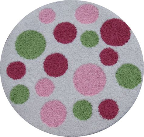 Polka Dot Rug by Polka Dot Round Rug Modern Rugs By Rosenberry Rooms