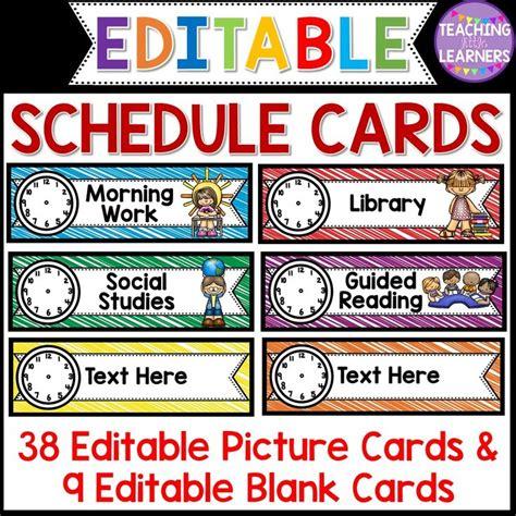 best 20 schedule cards ideas on schedule 814 | 8f106bef686d675cb832a7eeb938ddaf classroom signs classroom layout