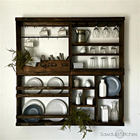 modular plate rack buildsomethingcom