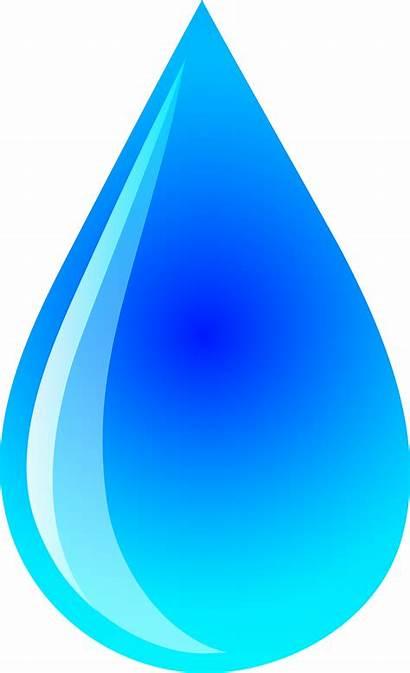 Water Clipart Cartoon Drops Clipartion
