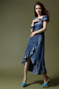 denim bridesmaids dress denim wedding inspiration With denim wedding dresses