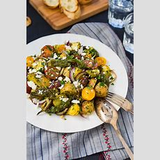 Mediterranean Style Roasted Potato Salad  Viva La Food