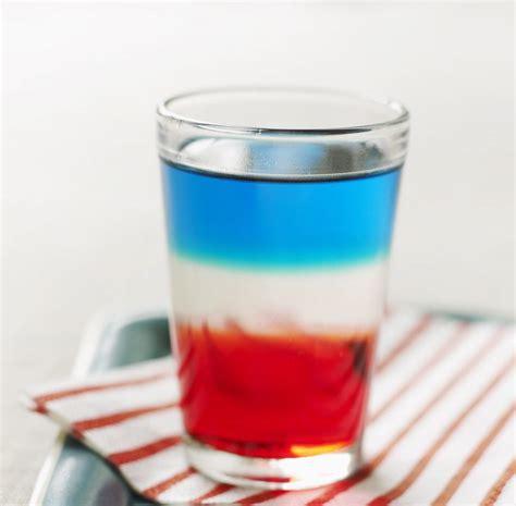 red white  blue shots recipe relish