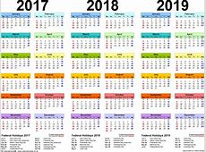 Printable School Year Calendar 201918 Unique 2017 2018