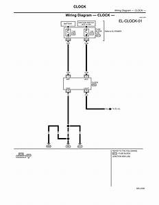 Pool Wiring Diagram Clock