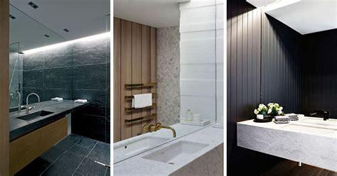 Mirrored Wall Bathroom by Bathroom Mirror Ideas Fill The Whole Wall Contemporist