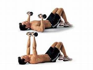 best workouts to get ripped in no time fast workout With dumbell press on floor