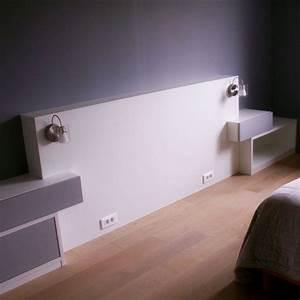 Tete De Lit Simple : pingl par licornemagique12 sur tete de lit pinterest lit chambre et dressing ~ Nature-et-papiers.com Idées de Décoration