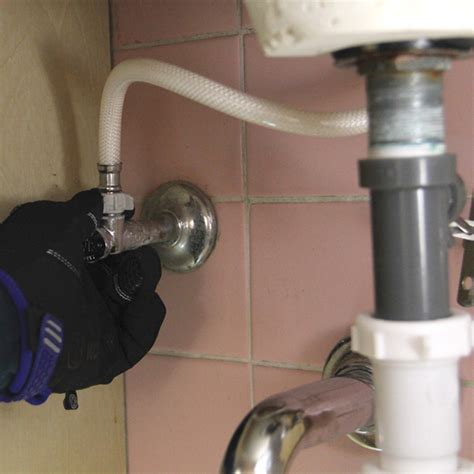 replace  bathroom faucet