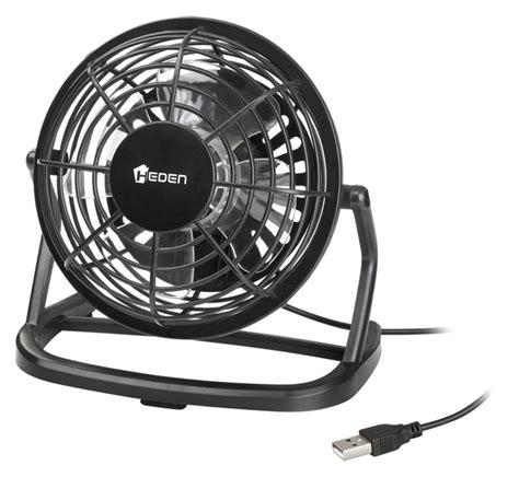 pca heden mini ventilateur usb 96 mm noir