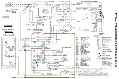Carrier Installation Wiring Diagram by Rooftop Unit Diagram The Drawing Below Shows A Typical