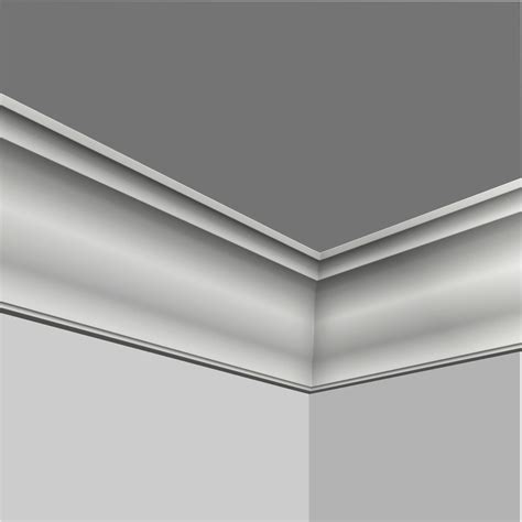 Polyurethane Crown Molding by Polyurethane Simple 6 Inch Crown Molding Moldings Trim