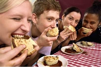Pie Contest Eating Young Vegan Vegans London
