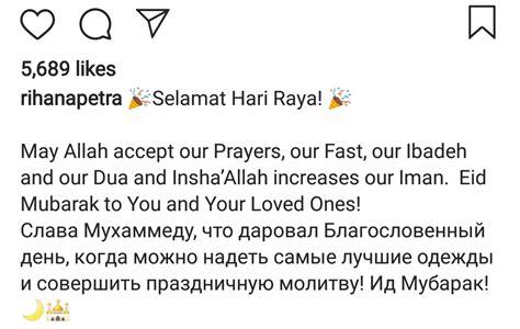 anggun selepas melahirkan tengku ismail leon petra oksana voevodina tampil berhijab  memberi