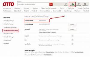 Amazon Mein Konto Rechnung : ratgeber so l schen sie in 3 schritten ihr kundenkonto bei otto ~ Themetempest.com Abrechnung