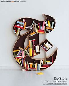 unusual bookshelves ideas that will blow your mind With letter bookshelf