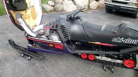 1996 Skidoo Formula 3 Iii Triple 600 For Sale Parts Only