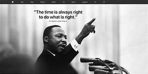 Apple celebrates Martin Luther King Jr. Day with homepage ...