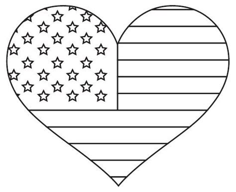 patriotic american flag coloring page american flag